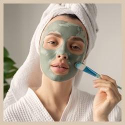 Masken und scrubs